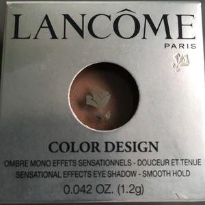 NWOT Lancôme color design eye shadow